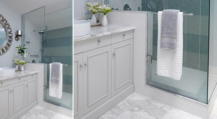 Calacatta tiles saltillo imports inc from sarah 39 s house for How to put down tile in bathroom