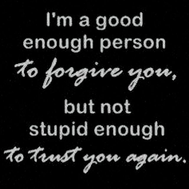 Funny Quotes About Trust | Trust & Forgiveness...