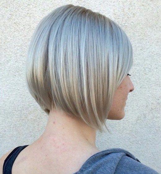 20 wunderschöne, kurz gestapelte Bob-Frisuren und Frisuren-Ideen, #gorgeous #hairsty …