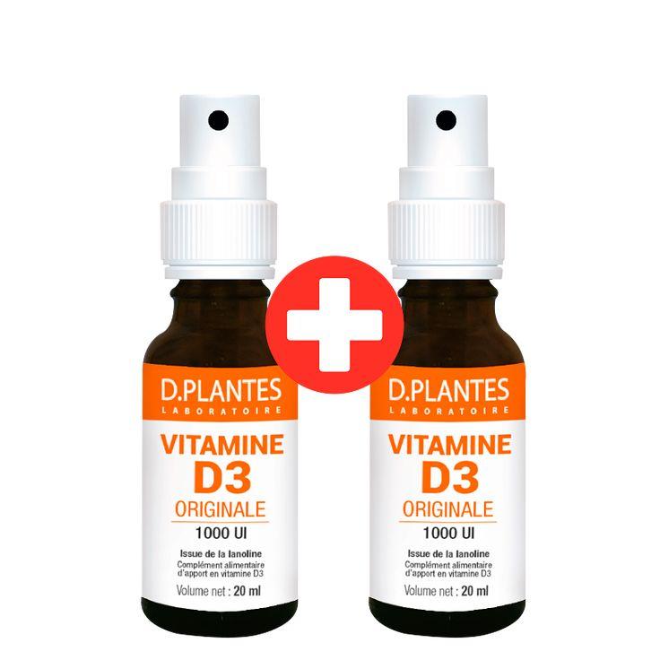 1+1 - Vitamine D3 Originale 1000 UI Spray