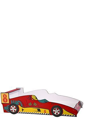 """Bed time will always be an exciting adventure for boys as they enter into dreamland driving their very own racing car. This unique bed is built with mdf and has pine and plywood support slats.<div class=""""pdpDescContent""""><ul><li> Melamine foil</li><li> MDF frame</li><li> Plastic wheels</li><li> Pine and plywood support slats</li><li> Assembly required</li></ul></div><div class=""""pdpDescContent""""><BR /><b class=""""pdpDesc"""">Dimensions:</b><BR />L95xW210xH60 cm<BR /><BR /><li> Ensure that surfaces…"""