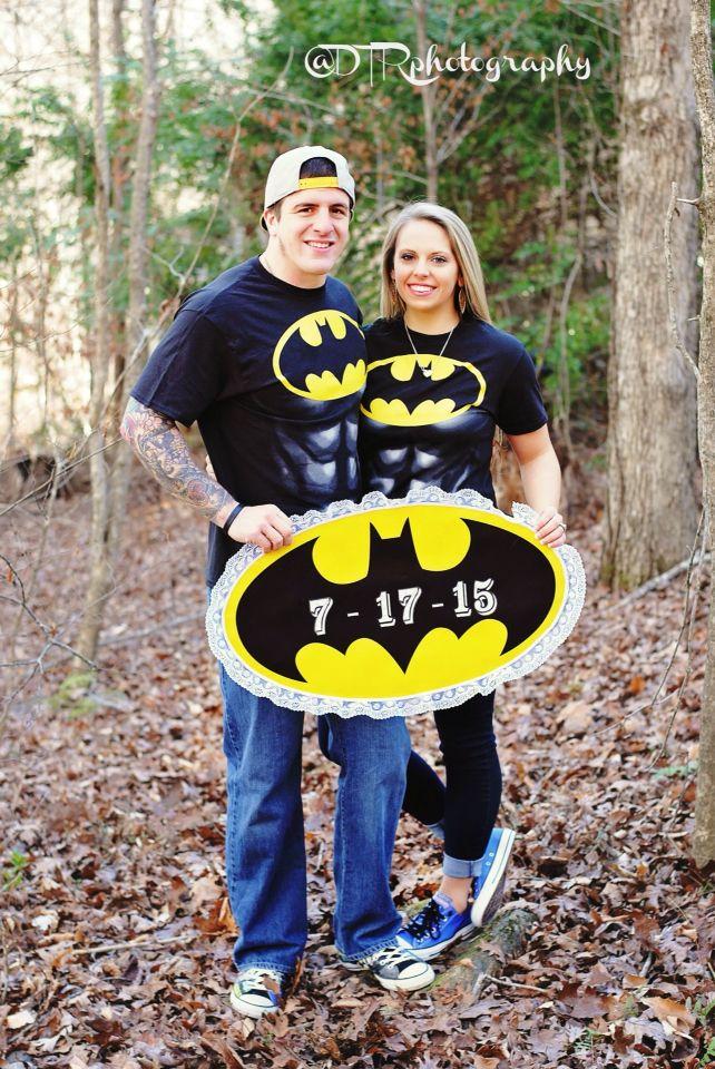 Our Batman Save the Dates by @dtr13 !! #batmanwedding #engagement