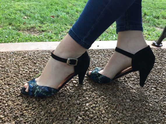 Mira este artículo en mi tienda de Etsy: https://www.etsy.com/es/listing/190764188/high-heel-leather-handmade-shoes-women