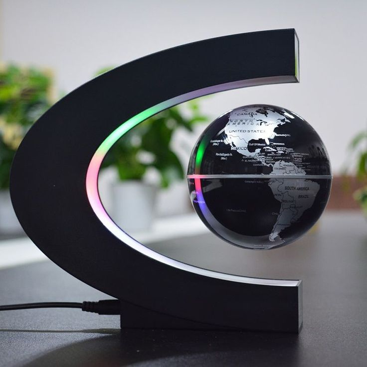 Magnetic Levitation Floating Globe Light | Lyfted Gift Co.