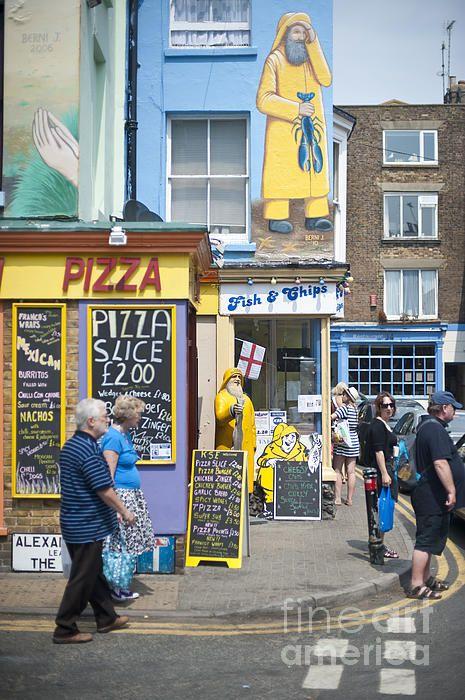 Fish n Chips. Broadstairs, Kent, England, UK.