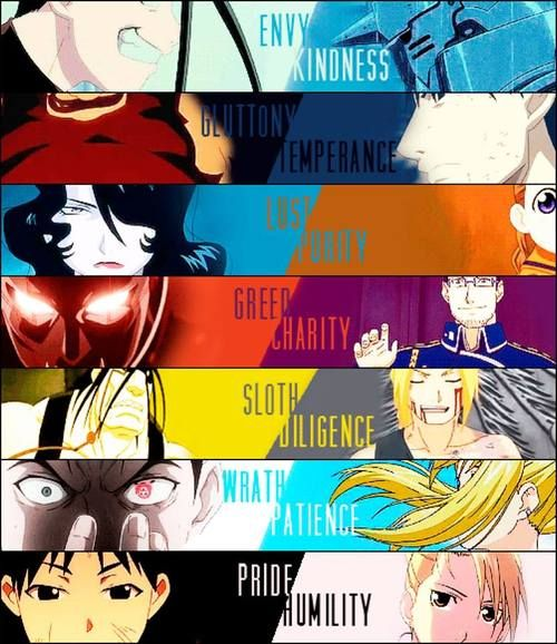 Seven Deadly Sins/Seven Heavenly Virtues
