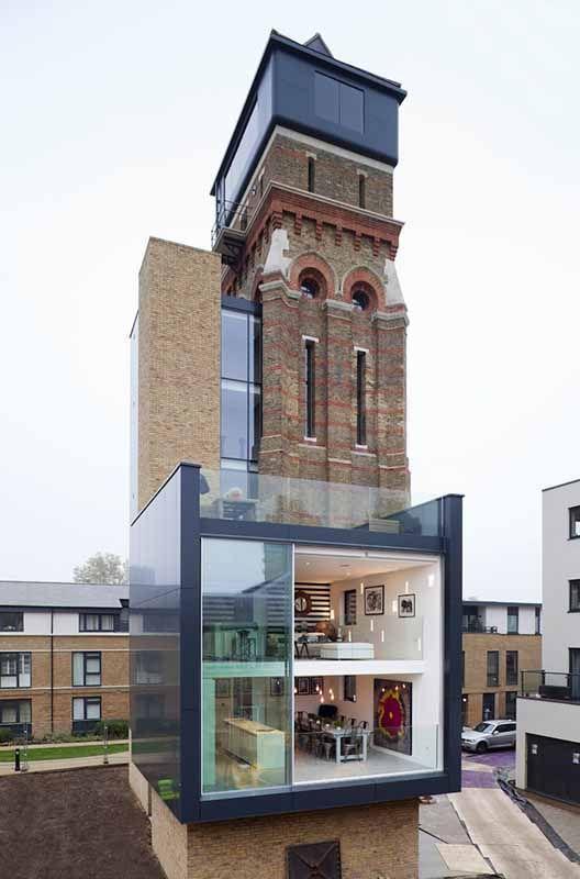 De vieja torre de agua a lujoso apartamento/ From old water tower to an incredible modern apartment