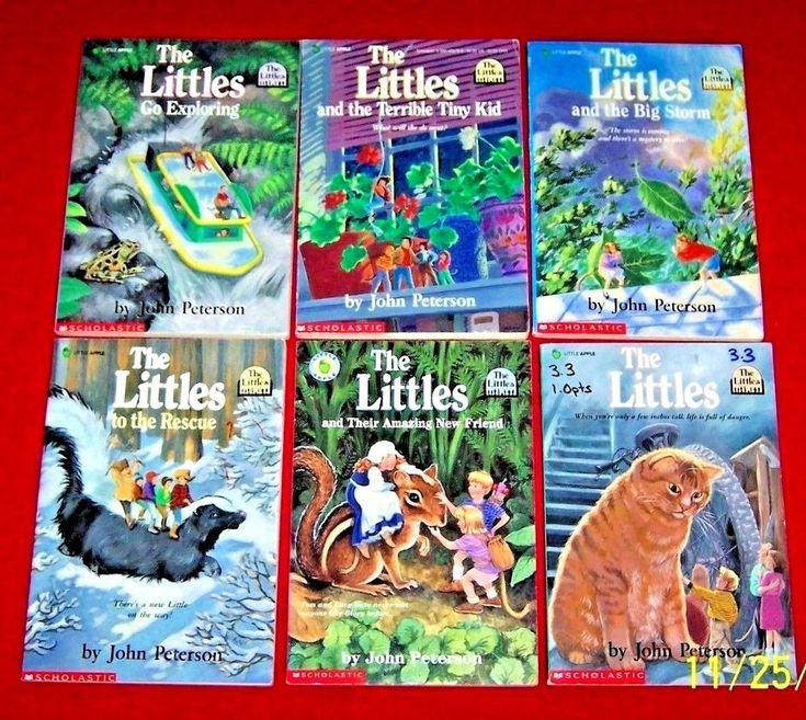 Childrens books 6 the littles chapter level 3 john