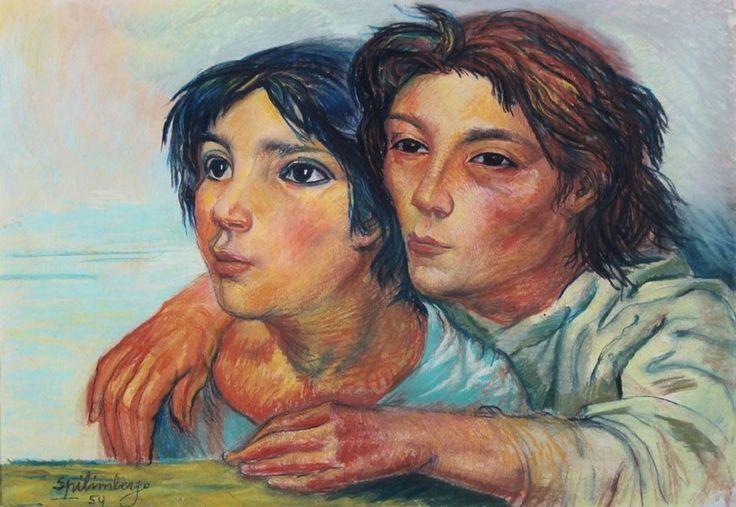 Los Hermanitos : Lino Enea Spilimbergo
