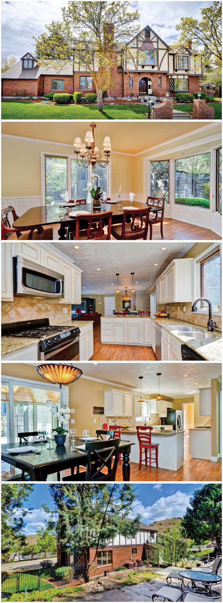 Classic Tudor Style In Coveted Neighborhood :: N Boise   Highlands ::  $599,900