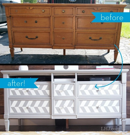 A Furniture Find: How To Turn A Flea Market Find Into Fab Furniture