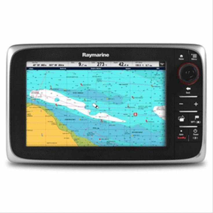 Raymarine c97 MFD Combo Display - Lighthouse Navigation Charts - NOAA Vector