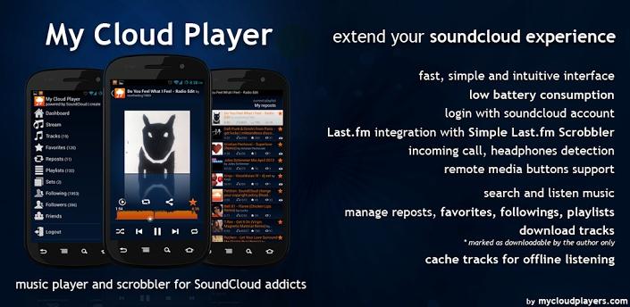 My Cloud Player - Pořadatel SoundCloud