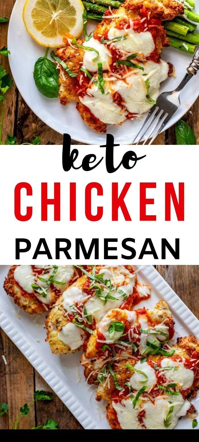 Keto Hühnchen Parmesan
