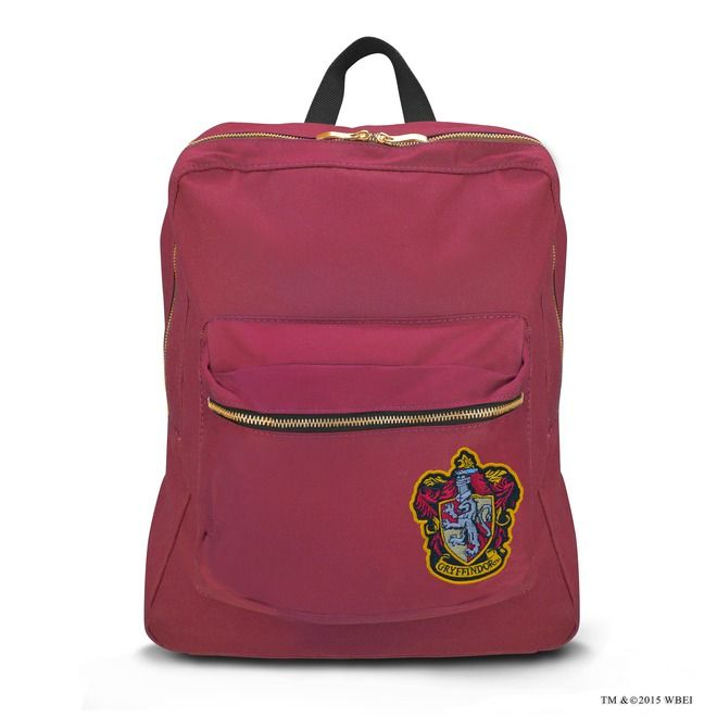 Gryffindor™ Lined Backpack   Accessories   Warner Bros Studio Tour London.... Ooh want this for my b day *hint* *hint*