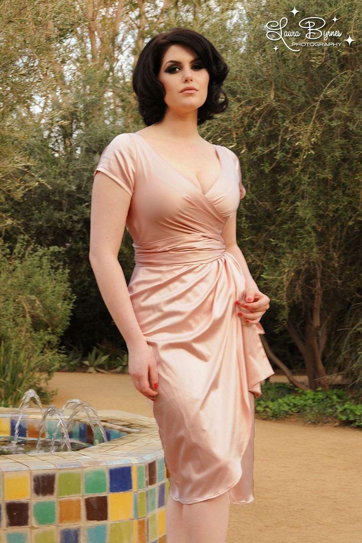 Ava Dress in Blush