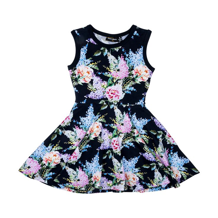 Rock Your Baby - Wisteria Waisted Dress