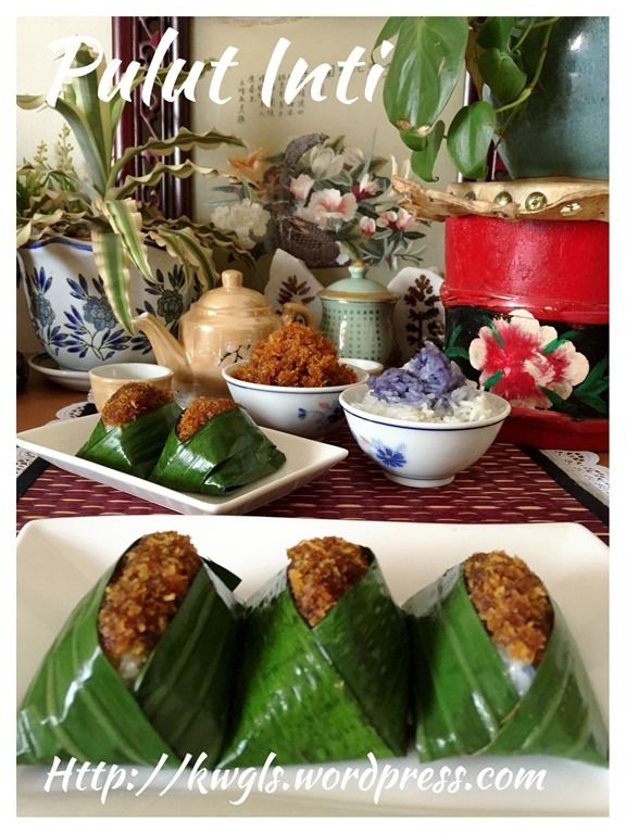 Glutinous Rice With Shredded Coconut - Pulut Inti (椰丝糯米糕 ...