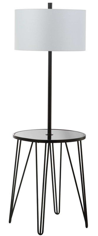 Dellinger Side Table 58 Floor Lamp