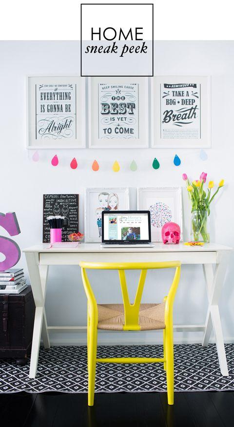 Gorgeous colour   Adore Home magazine
