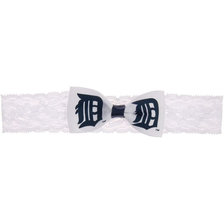 Detroit Tigers Girls Infant Baby Headband