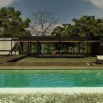 Club House in Salta, Argentine, modern architecture, club de campo