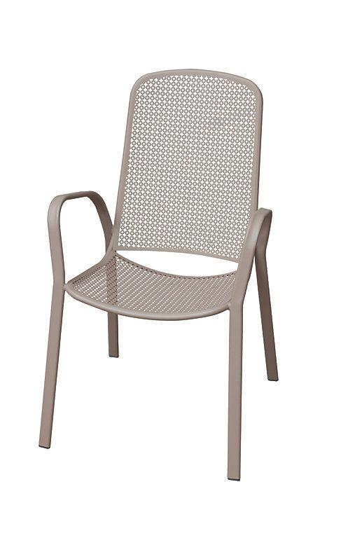 dorsey armchairgrey garden armchair outdoor decor outdoor seating rh pinterest com