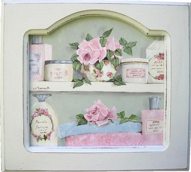 pretty bathroom cupboard