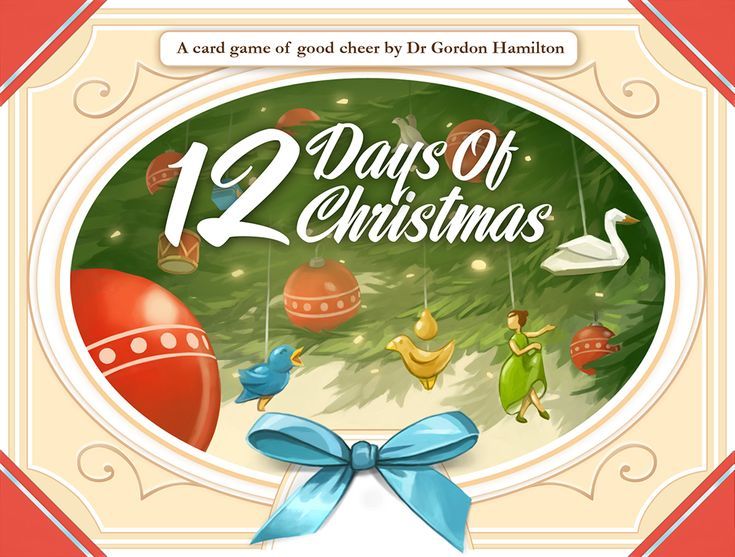 12 Days of Christmas game cover (from the publisher's site).