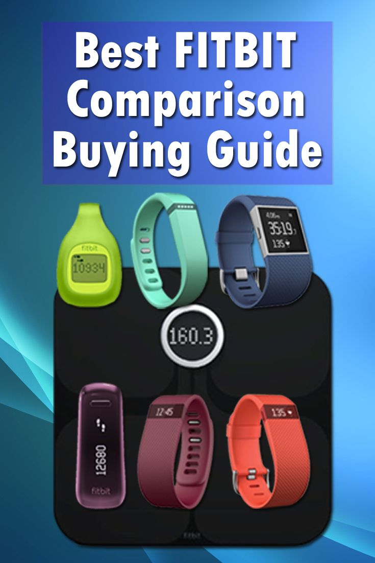 Check out the Best Fitbit Comparison Here. There are so many fitbit models. Which one fits you the best? http://wearaction.com/best-fitbit-comparison-buying-guide