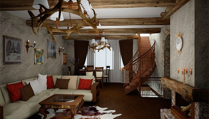 Декор в средневековом интерьере