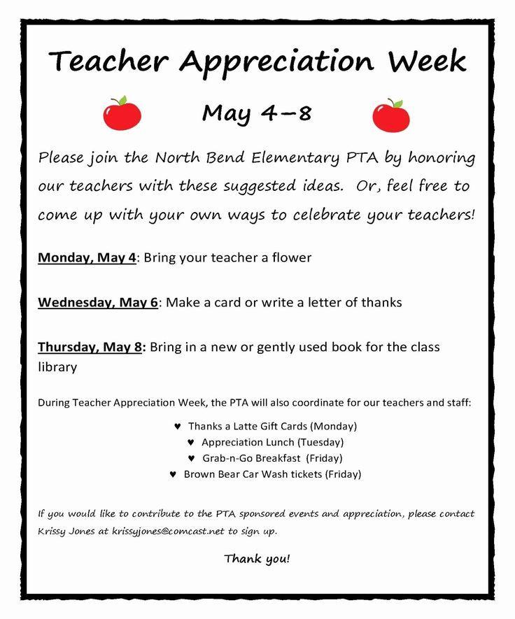 Pin On Teacher Appreciation Week