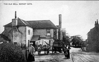 Old Bell. Barnet Gate