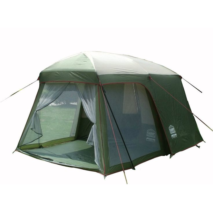 Premium Quality Ultralarge One Hall & One Bedroom Double Layer 200cm Height Waterproof 5-8 Person Tent