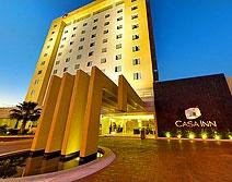Hotel Casa Inn Business, Celaya, Guanajuato, México.  A un costado de Plaza Galerías Tecnológico y Veleros.