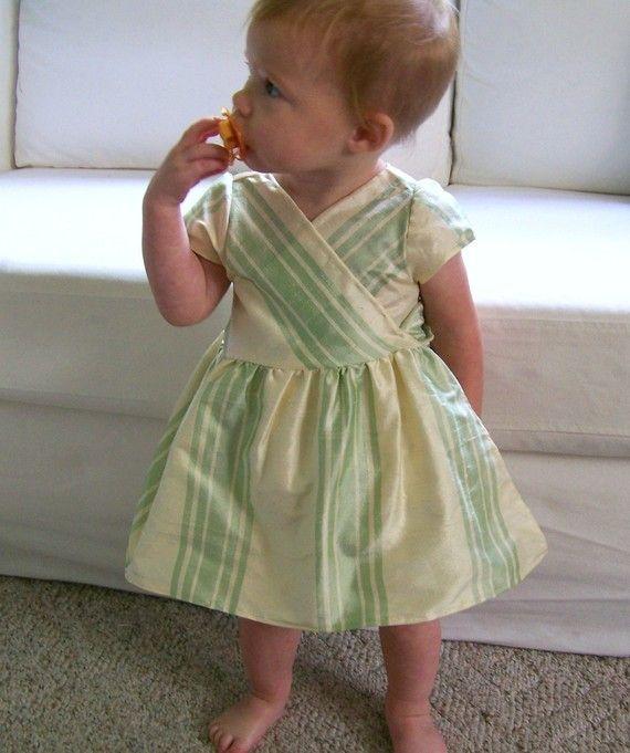 Wrap dress pattern: Toddlers Wraps, Wrap Dresses, Wraps Dresses Patterns, Dress Sewing Patterns, Patterns Ideas, Wrap Dress Patterns, Children Clothing, Baby, Dresses Sewing Patterns