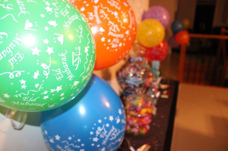 Eid Balloons