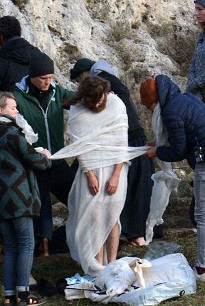 "Mary Magdalene (2017)   Хоакин Феникс на съемках драмы ""Мария ..."