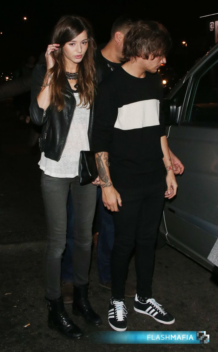 Louis Tomlinson and Elanor Calder attend Niall Horan's 21st Birthday Party at Shoreditch House in London! (Check out more pictures and upload your own Louis Tomlinson pix to FlashMafia.com) #OneDirection