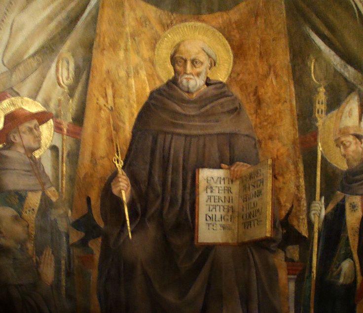 Santa Trinita, Neri di bicci, San giovanni gualberto (dettaglio)2 - Category:Neri di Bicci - Wikimedia Commons