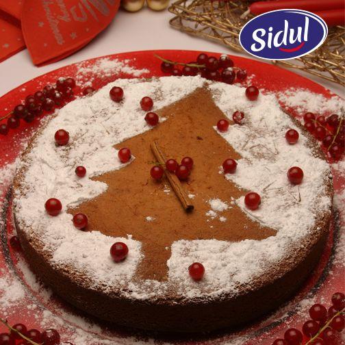 Bolo de Canela Natalício INGREDIENTES 5 ovos 300g Açúcar Mascavado Sores 150ml de natas 270g farinha com fermento 1 colher de sobremesa de fermento em pó 1 colher de sopa de canela Raspa de 1 limão (médio) 100g margarina Açúcar em Pó Sidul q.b.  Veja como preparar e decorar este óptimo bolo que irá adocicar o seu natal: www.sidul.pt/receitas/bolo-de-canela-natalicio