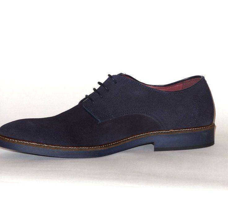 Zara RguXjpsiS Chaussures homme bleues Chaussures Zara qzUZn