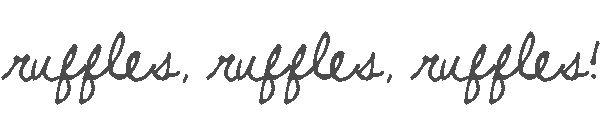 Lorajean's Magazine,: Tutorial: ruffled crepe paper streamers