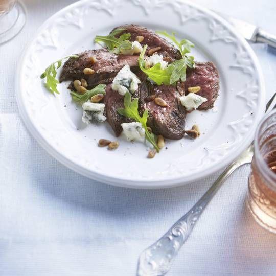 Bistecca ai ferri con gorgonzola