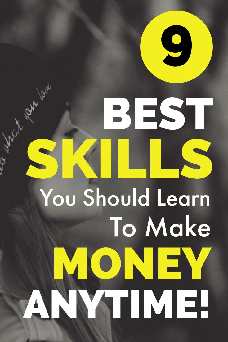 9 Best Skills You Should Learn To Make Money Anytime – Make Money From Home