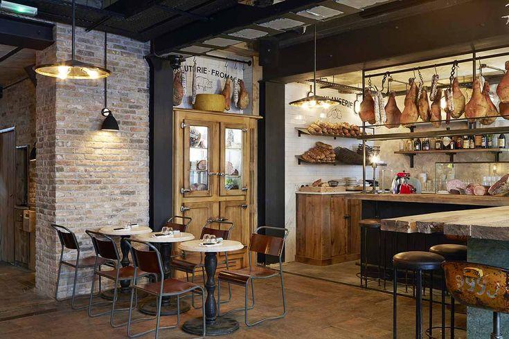 Photo.Décoration du restaurant italien