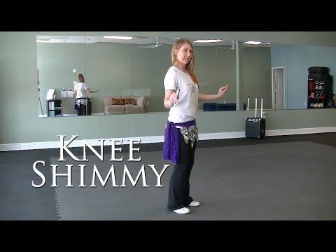 Very clear knee shimmy lesson for beginners