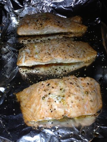Running A Ragnar: Pioneer woman's recipe for perfect salmon