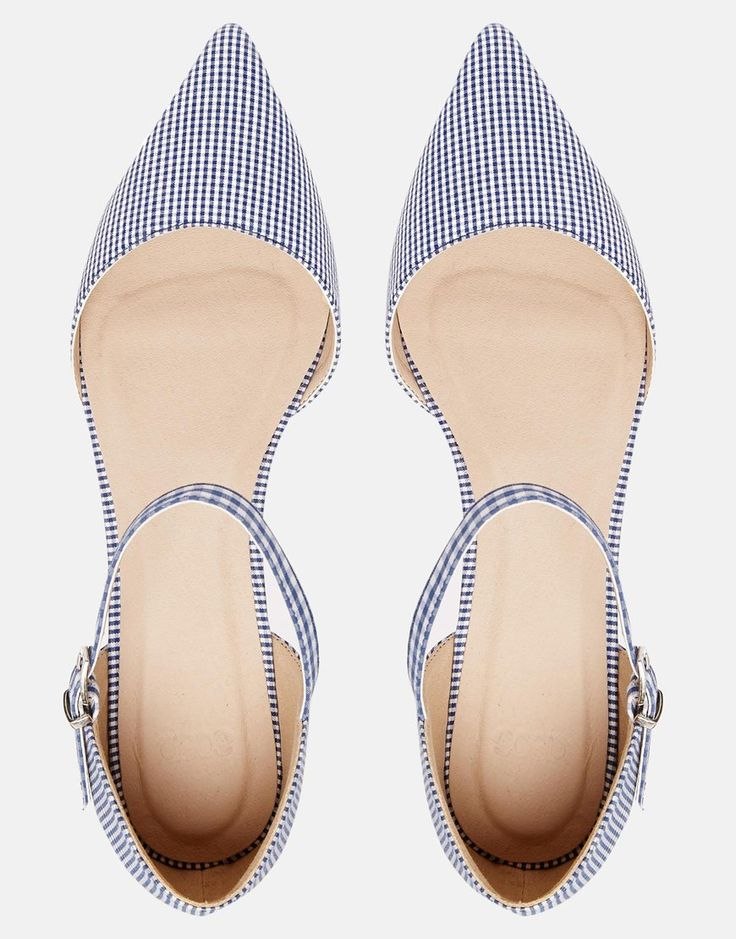 ASOS LATE NIGHT Pointed Ballet Flats