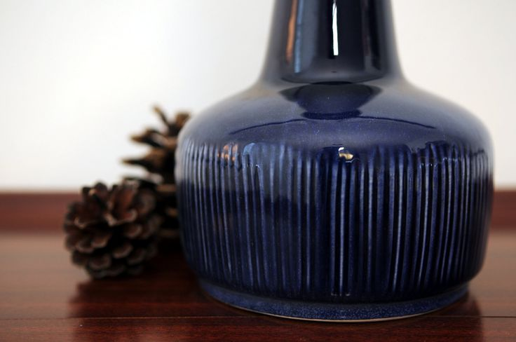 Ceramic lamp from Lehmann, Denmark by nORDICbYhEART on Etsy